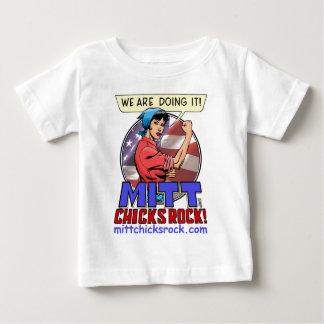 Infant T-shirt - Mitt Chicks Rock!