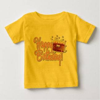 Infant T-Shirt Round Neck Short Sleeves 100%Cotton