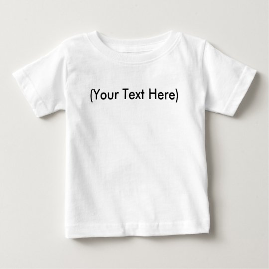 Infant T-Shirt Template