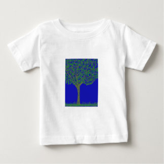 Infant T-Shirt with Tree and Sky Illustration