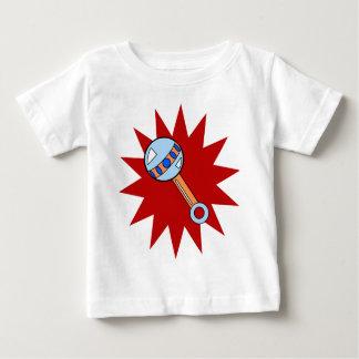 infant tee - rattle