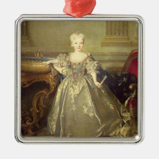 Infanta Maria Ana Victoria de Borbón, 1724 (oil on Christmas Ornament