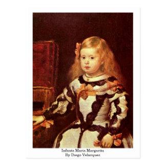 Infanta Maria Margarita By Diego Velazquez Postcard