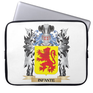 Infante Coat of Arms - Family Crest Computer Sleeves