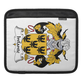 Infante Family Crest Sleeve For iPads