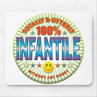 Infantile Totally Mouse Mat