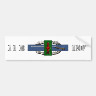 INFANTRY 11B 32nd Infantry Brigade Combat Team Bumper Sticker