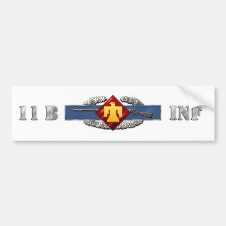 INFANTRY 11B 45th Infantry Brigade Combat Team Bumper Sticker