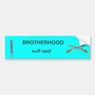 Infantry Brotherhood Bumper Sticker