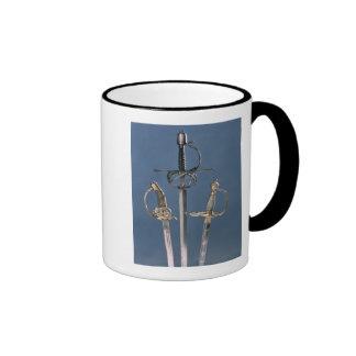 Infantry officer s sword coffee mugs