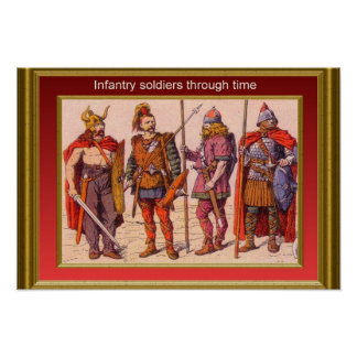 Infantry through the ages 10 print