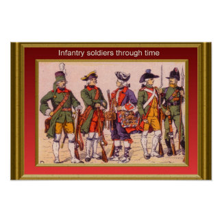 Infantry through the ages 14 posters