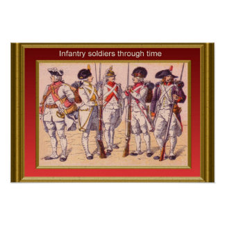 Infantry through the ages 16 posters
