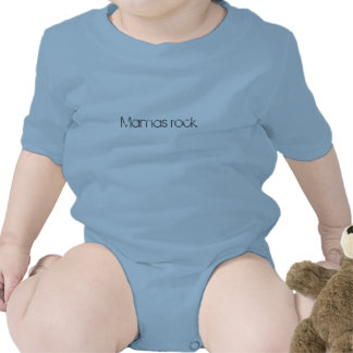 "Infant's ""Mamas rock"" tee"