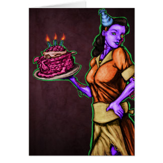 Infected Birthday Card