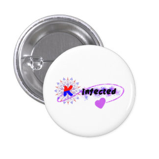 Infected by Korea 3 Cm Round Badge