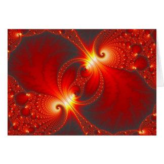Infernal - Fractal Art Greeting Card