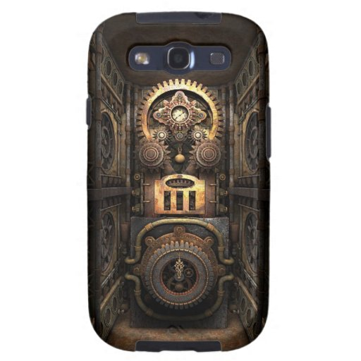 Infernal Steampunk Contraption Samsung Galaxy SIII Cases