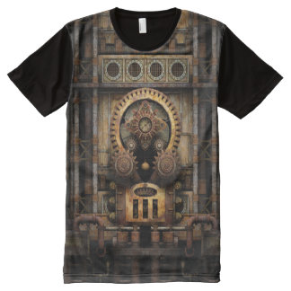 Infernal Steampunk Machine All-Over Print T-Shirt