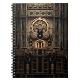 Infernal Steampunk Machine Notebook