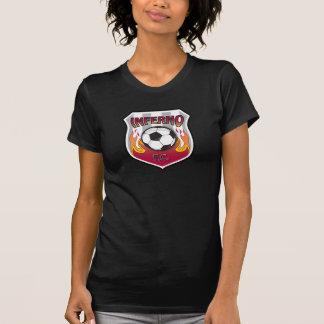 Inferno F.C. - Women's T - Black T-Shirt