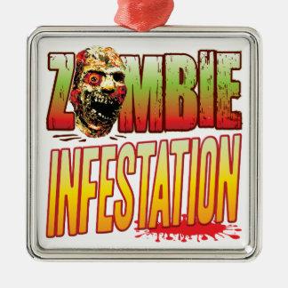 Infestation Zombie Head Christmas Tree Ornaments