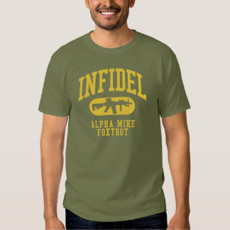 INFIDEL M4 Carbine AMF Tee Shirts