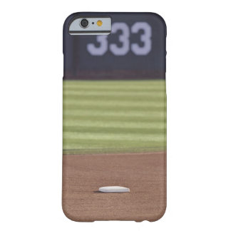 Infield, second base, outfield, and 333 foot barely there iPhone 6 case