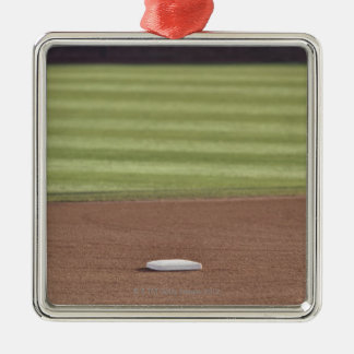 Infield, second base, outfield, and 333 foot christmas ornament