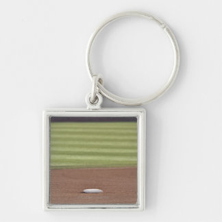 Infield, second base, outfield, and 333 foot key ring