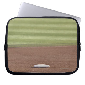 Infield, second base, outfield, and 333 foot laptop sleeve