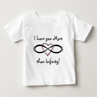 Infinate Love design Baby T-Shirt