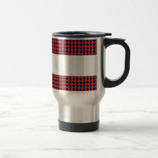 Infiniity Symbol Red BLANK strip add TEXT IMAGE 99 Mug
