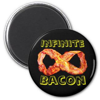 Infinite Bacon 6 Cm Round Magnet