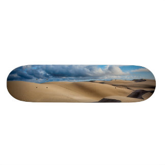 Infinite Dunes Custom Skate Board