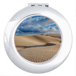 Infinite Dunes Travel Mirror