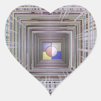 Infinite Eternity Cosmos Universe Space Energy fun Heart Stickers