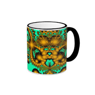Infinite Gold Planets Coffee Mug