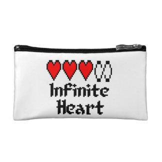 Infinite Heart cosmetic bag