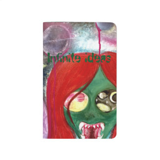 Infinite ideas alien space ufo pocket journal