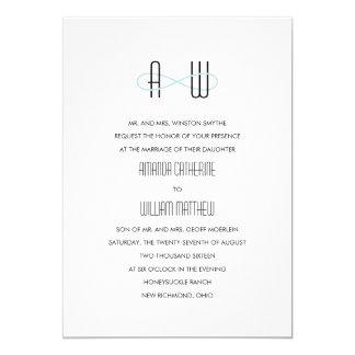 Infinite Initials Wedding Invitations Mint