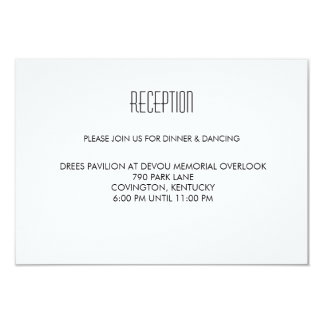 Infinite Initials Wedding Reception Card Mint 9 Cm X 13 Cm Invitation Card
