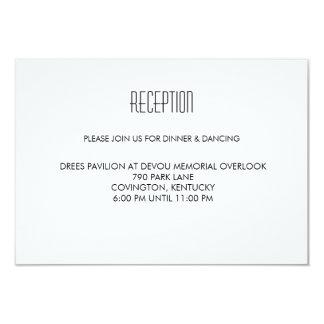 Infinite Initials Wedding Reception Card Mint 9 Cm X 13 Cm Invitation Card