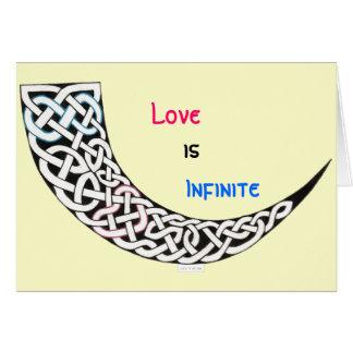 Infinite Love Valentine s Day card