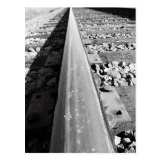 Infinite Rail Track  Postcard