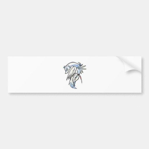 -Infinite World-Ico Bumper Sticker