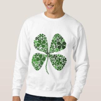 Infinitely Lucky 4-leaf Clover Sweatshirt