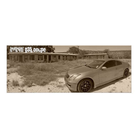 Infiniti G35 Coupe Poster