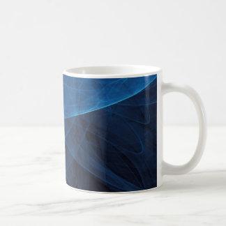 Infinity 2 Blue Basic White Mug