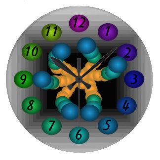 Infinity 3D Robotic Sci Fi Futuristic Clocks